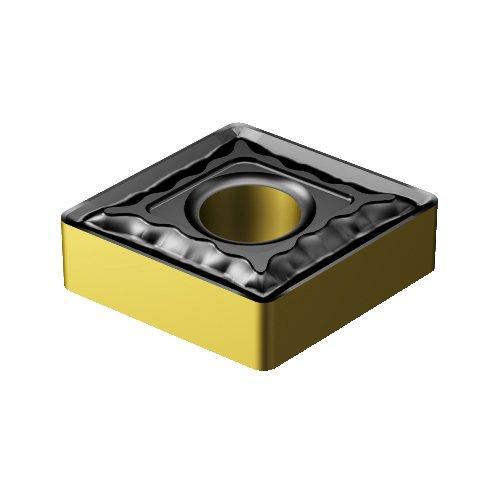 Sandvik Coromant CNMG 433-QM 4335 T-Max P Insert for Turning, Carbide, Diamond 80 deg, Neutral Cut, 4335 Grade, Ti(C,N)+Al2O3+TiN, Inveio Coating Technology (Pack of 10)