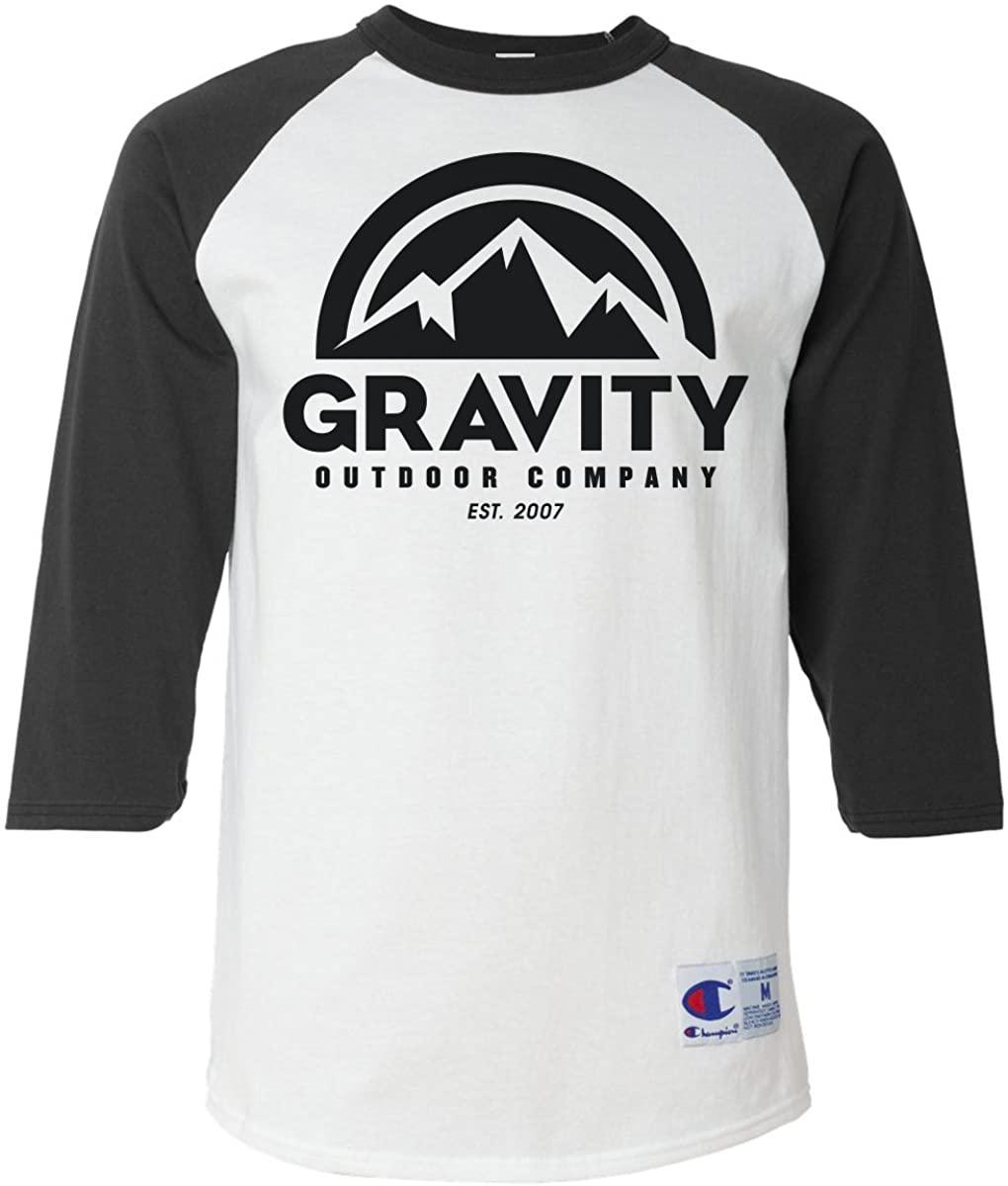Gravity Outdoor Co. Mens Raglan T-Shirt
