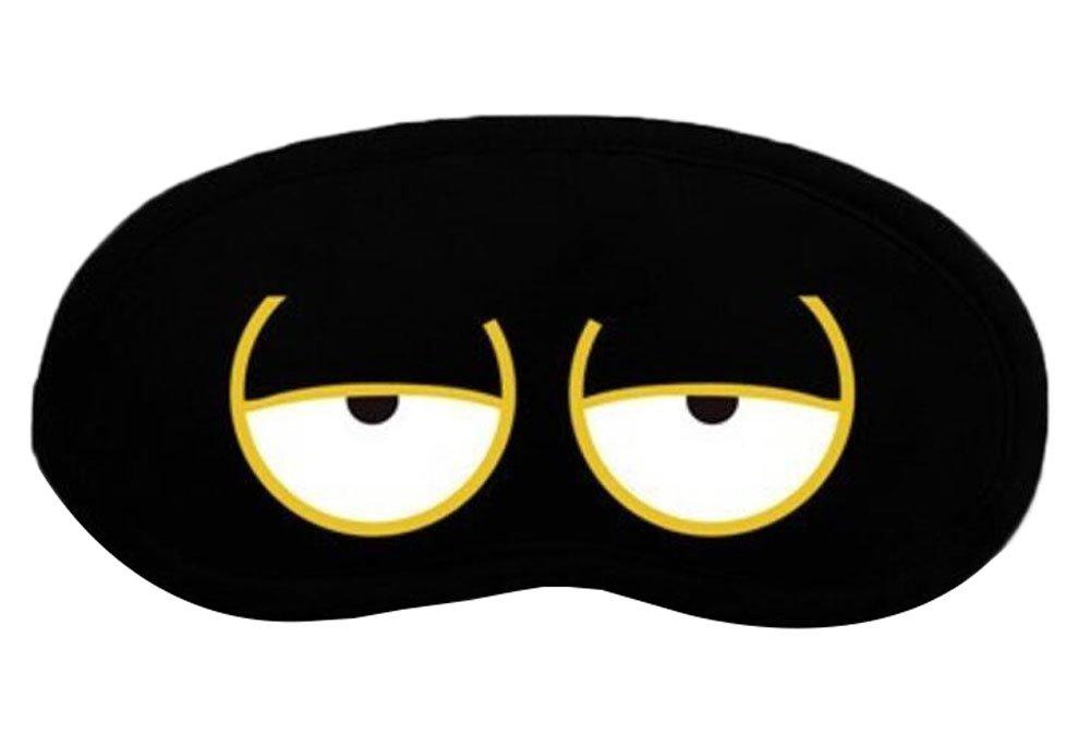 Black Blocks Light Soft Lightweight Eye Mask