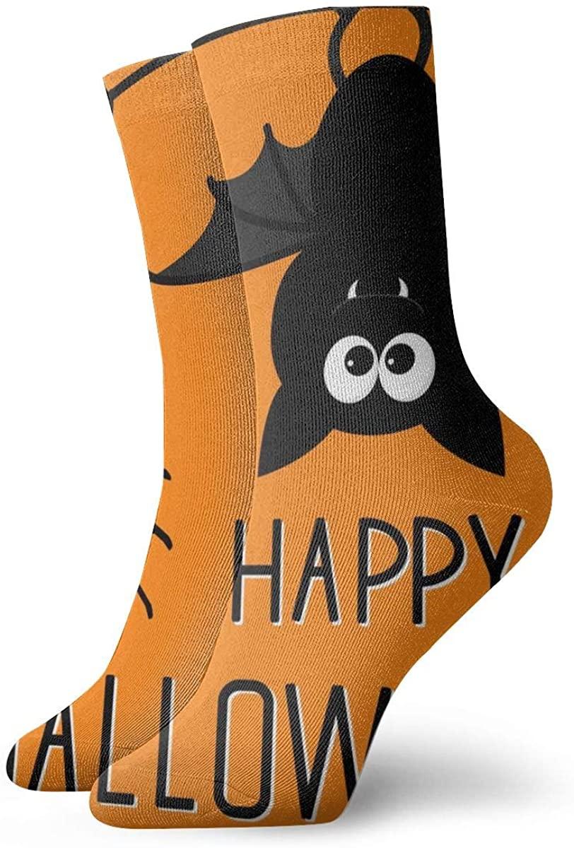 Athletic Socks Cute Fun Colorful Monster Novelty Funny Crew Socks for Mens Womens Unisex