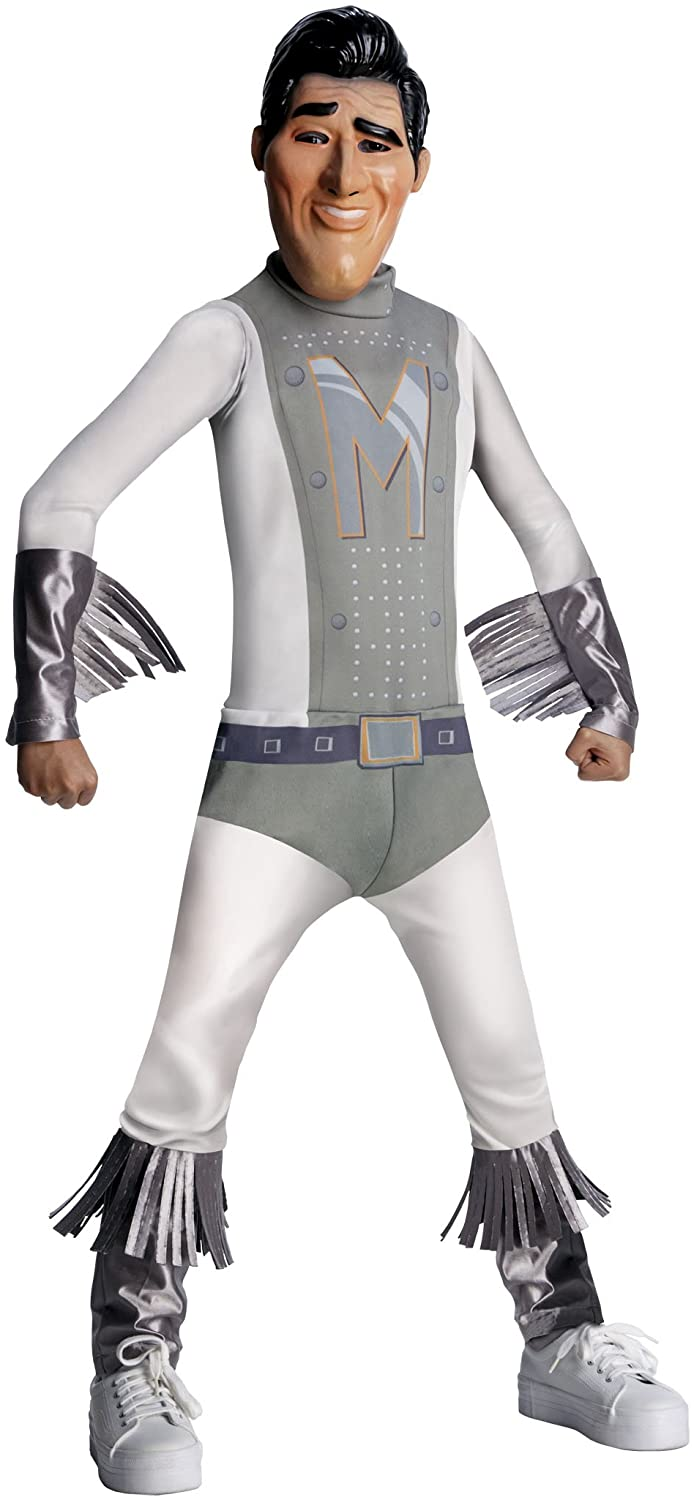 Megamind Child's Costume, Metro Man Costume-Large