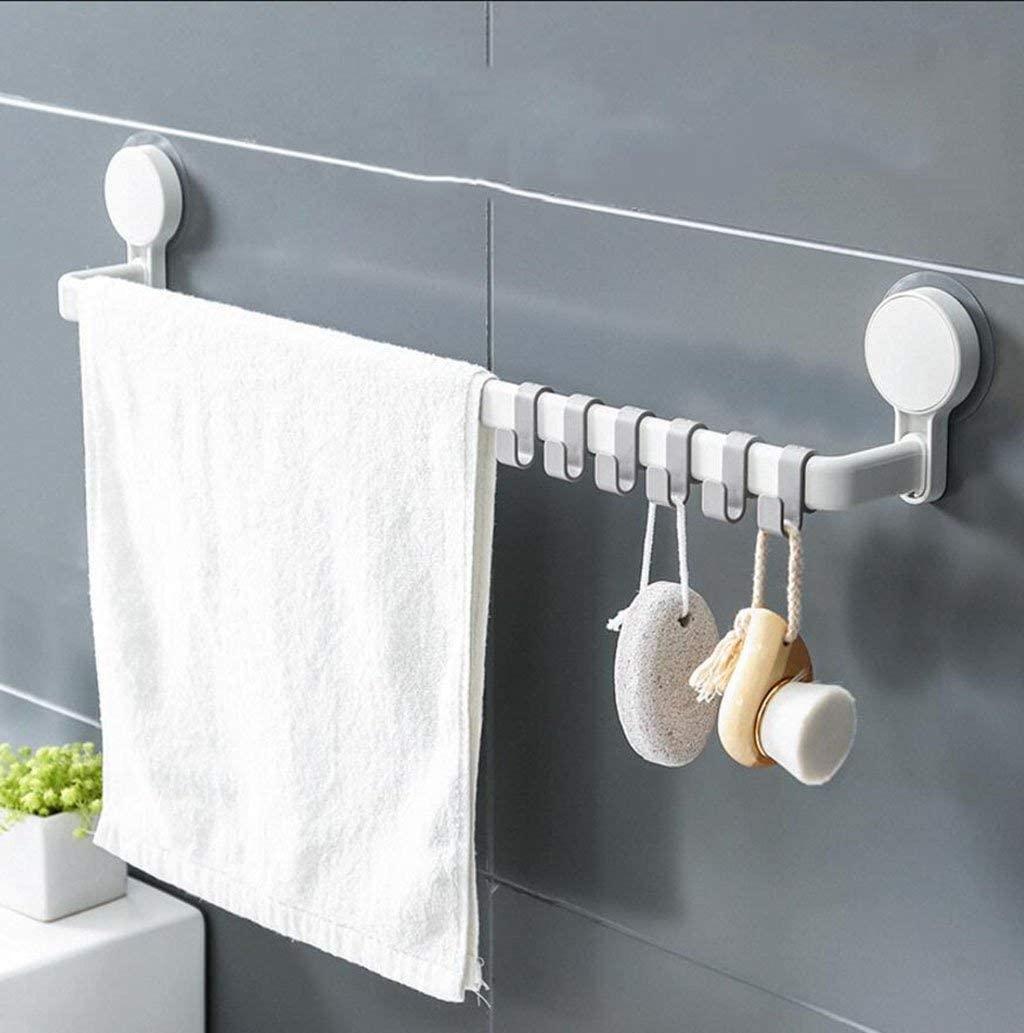 Suction Nordic Style Shower Room Towel Racks Toilet Kitchen Racks, BOSS LV,