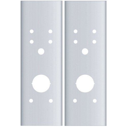Pro-Lok Schlage AD Cylindrical Flat Plate Set (Stainless Steel)