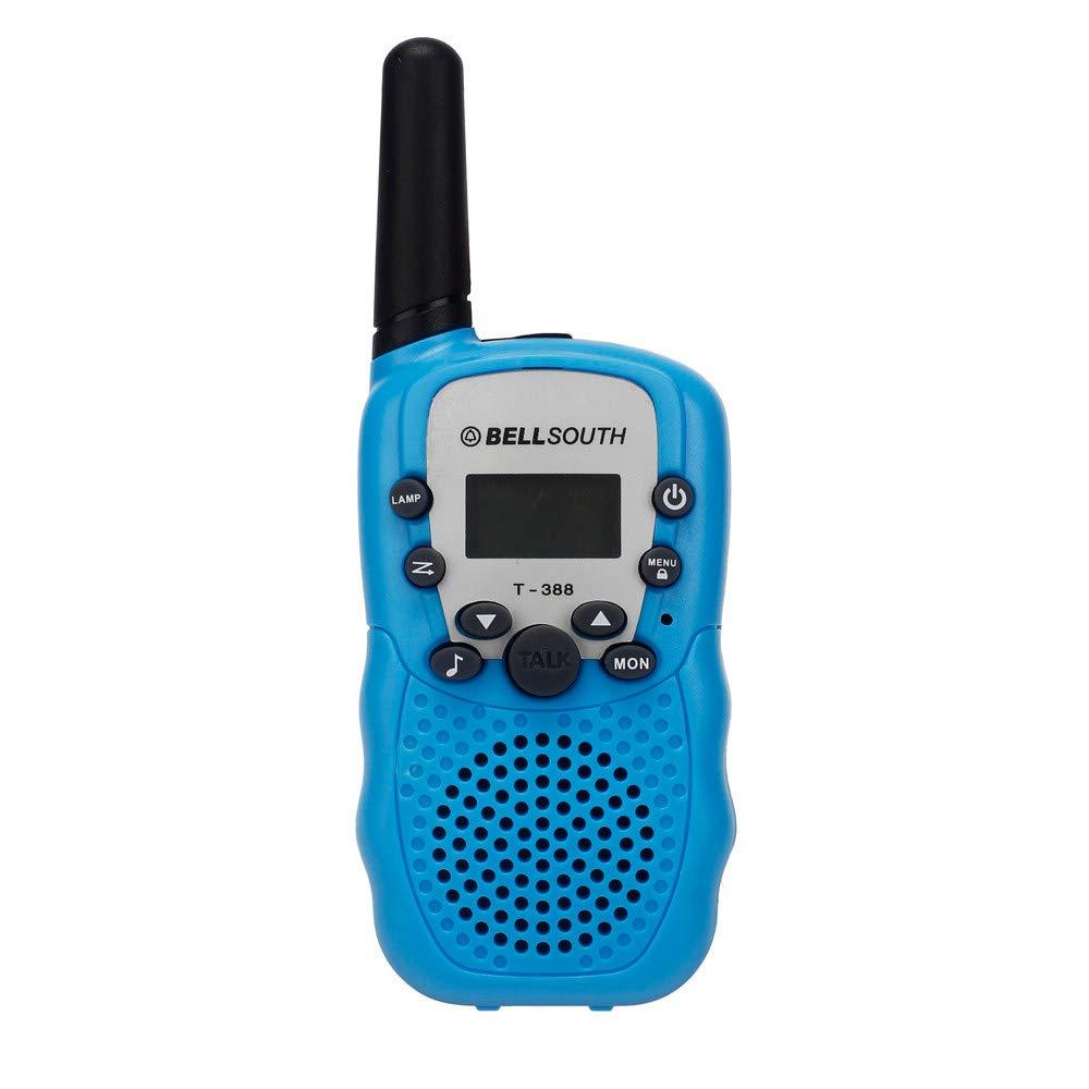 Eight Channel Two Way Radio Long Range Business Portable Wireless Walkie-Talkie Set for Adult Programmable Walkie Talkie (A)