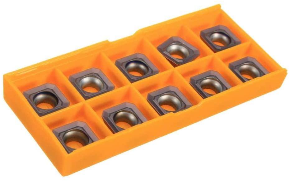 menolana 10x Carbide Inserts SEHT1204AFSN-X45 PC9035 / SEHT43AFSN-X45