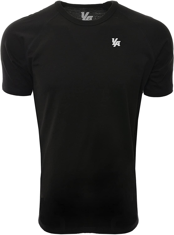 YoungLA Workout Shirts Men T-Shirts Short Sleeve Raglan 417