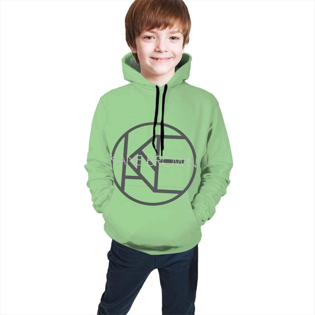 Girls Personality Long Sleeves Hoodies,Boys Casual Blouse Top,Teenage Kane Brown Sweatshirt with Pocket