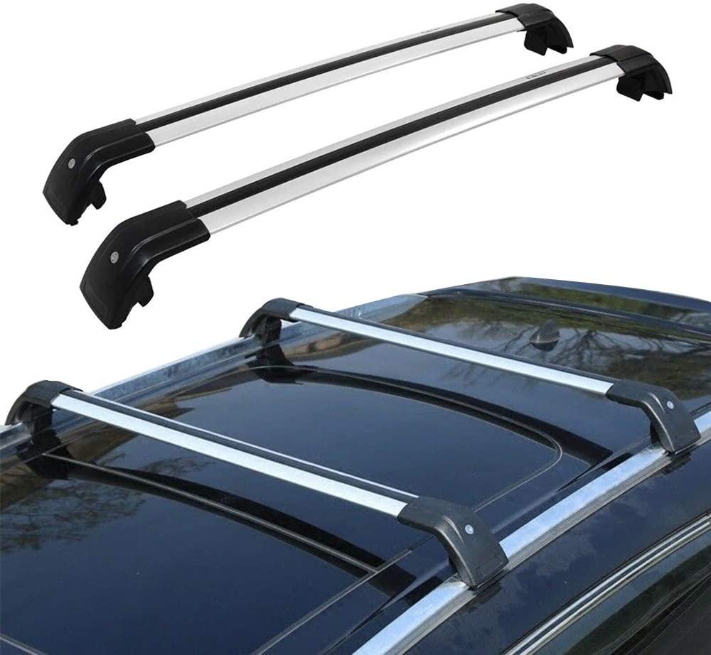 ENIXWILL Audi Q5 Crossbar Roof Rack Fit for 2013-2019 Audi Q5 Cargo Roof Rack