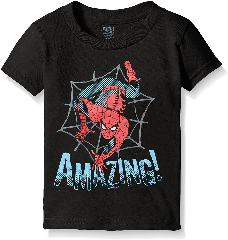 Marvel Boys' Toddler Boys' Spiderman Web Crawling