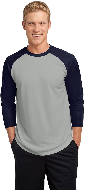 SPORT-TEK Men's 3/4 Raglan Sleeve Baseball Jersey