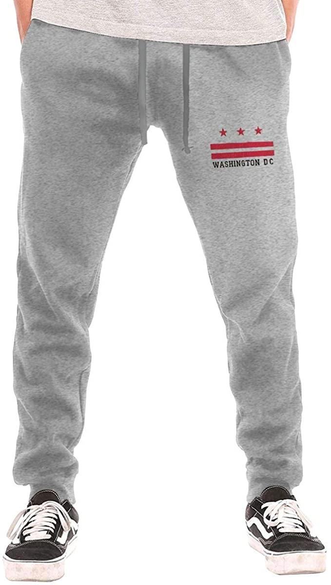 Field Rain Washington D.C Fashion Mens Breathable Causual Soft Long Sweatpants Sport Pants