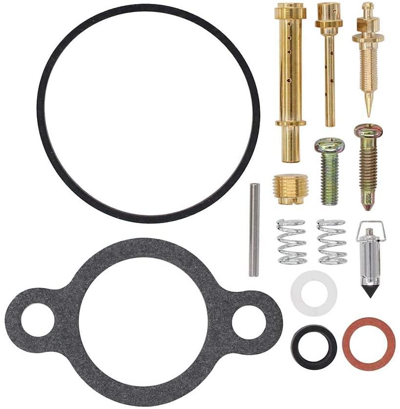 Carburetor Carb Rebuild Repair Kit for Engines Compatible with Kawasaki FC420V KD2153 R550 Engines R105