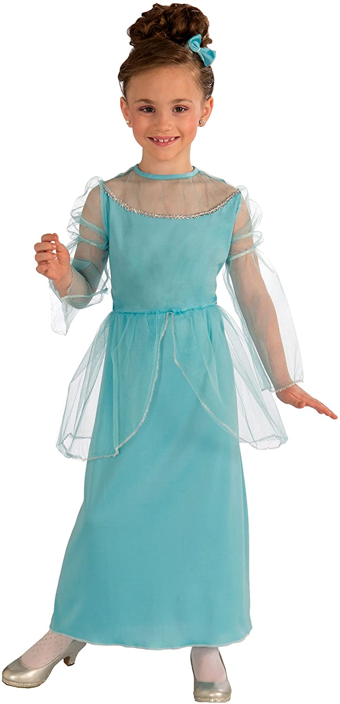 Forum Novelties Princess In Blue Child Costume, Large