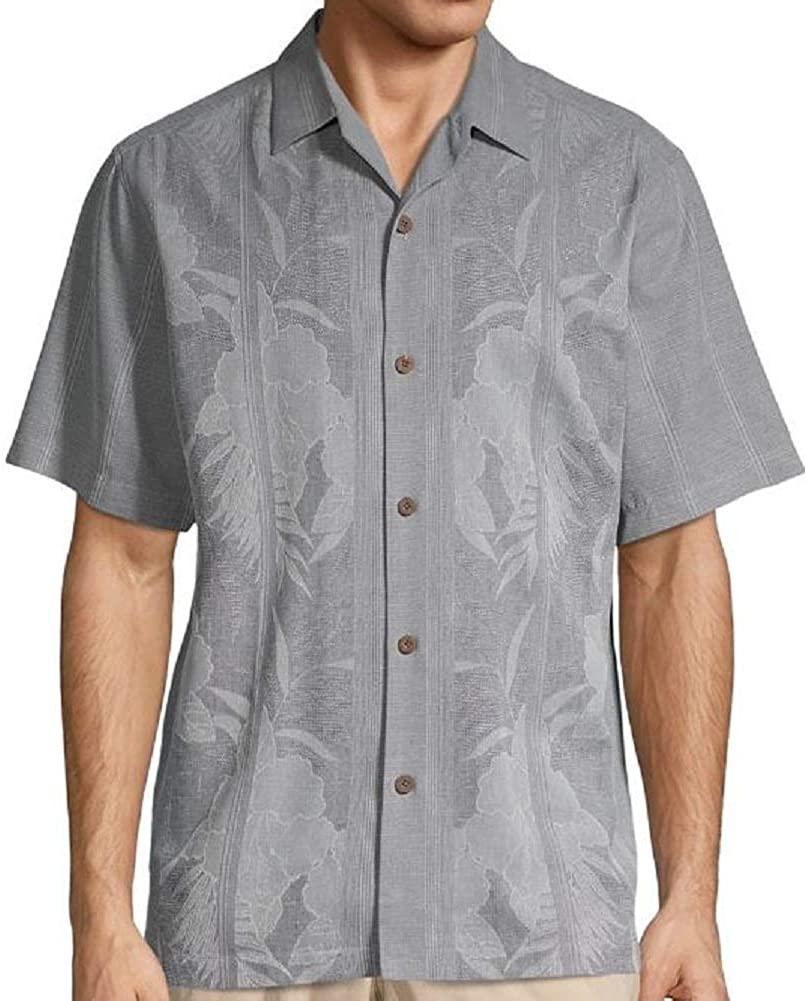 Tommy Bahama Tahitian Border Silk Camp Shirt