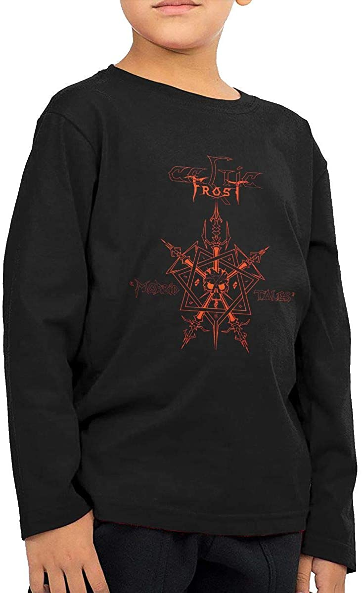 Celtic Frost Cute Toddler/Infant Crew Neck Tee Childrens Long-Sleeved Fashion Breathable T-Shirt