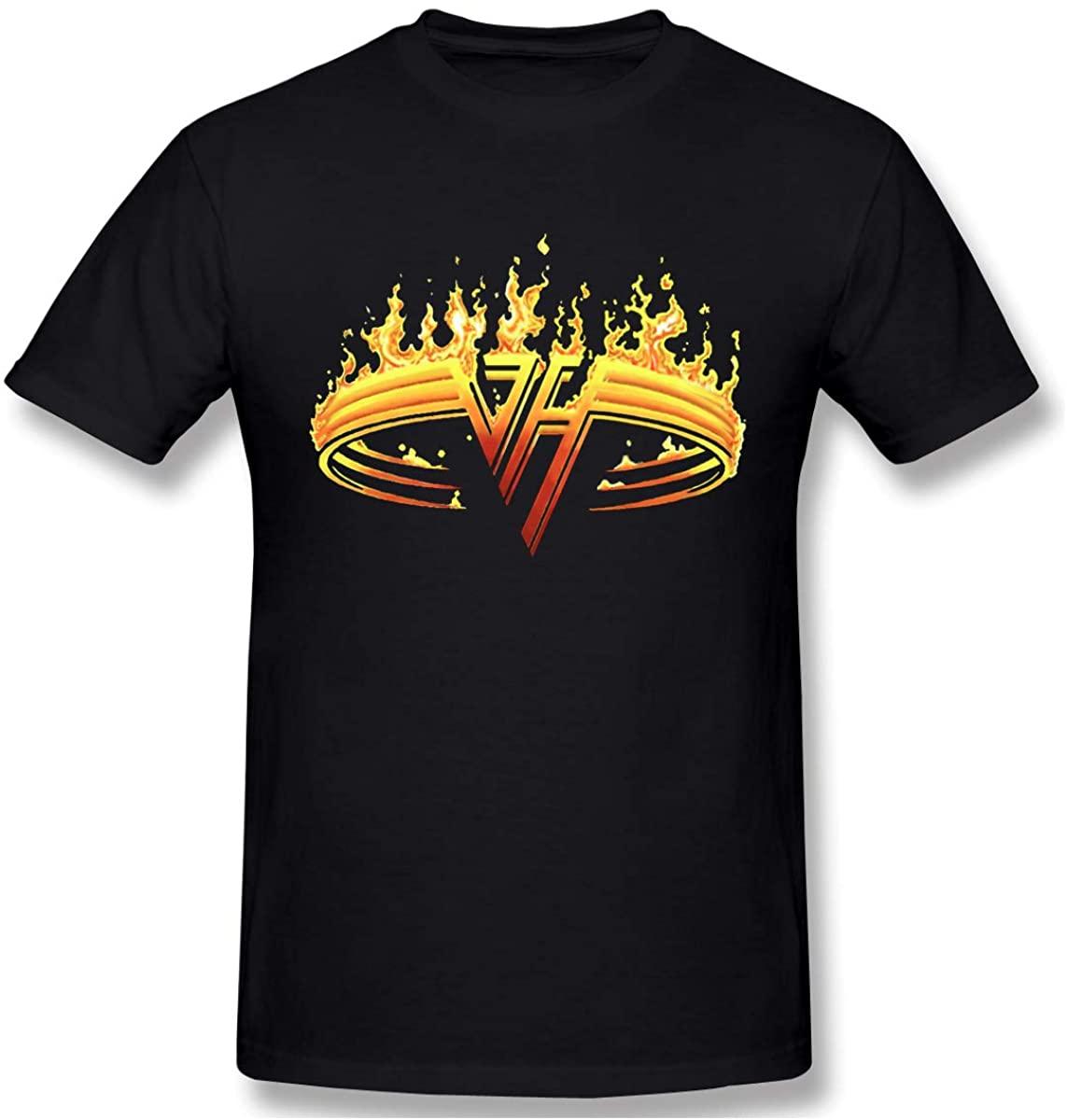 Men's Van Halen 1984 Fashion Custom Casual Short-Sleeved T-Shirt