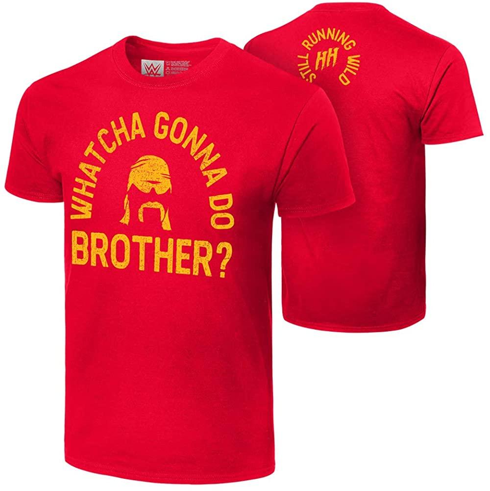 WWE Hulk Hogan Whatcha Gonna Do Brother? Authentic T-Shirt