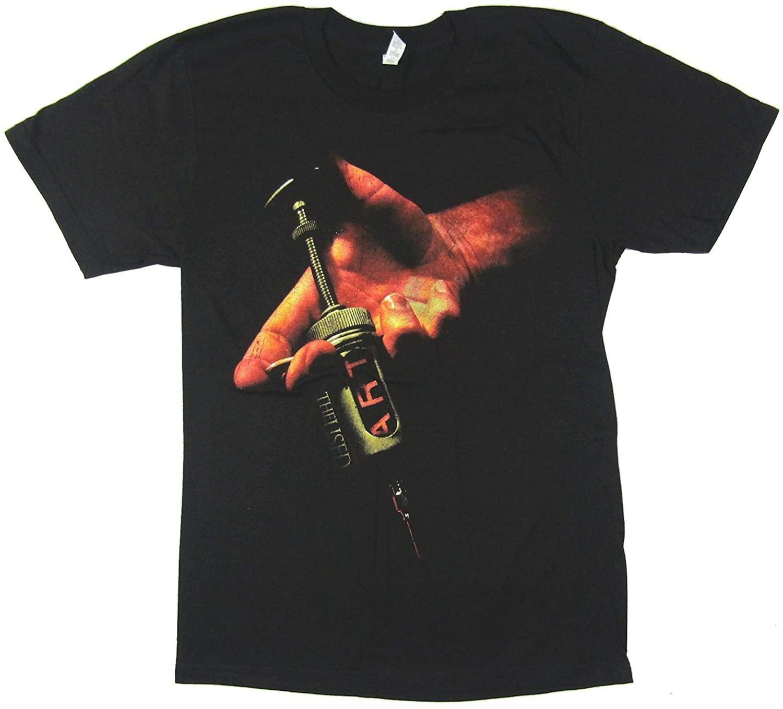 The Used Art Needle Syringe Canada 2009 Black T Shirt