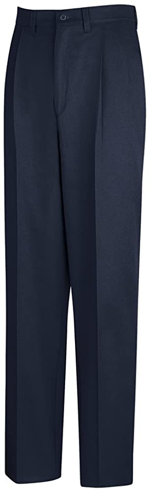 Red Kap Pleated Front Cotton Pant, Men, PC46NV, 4836U