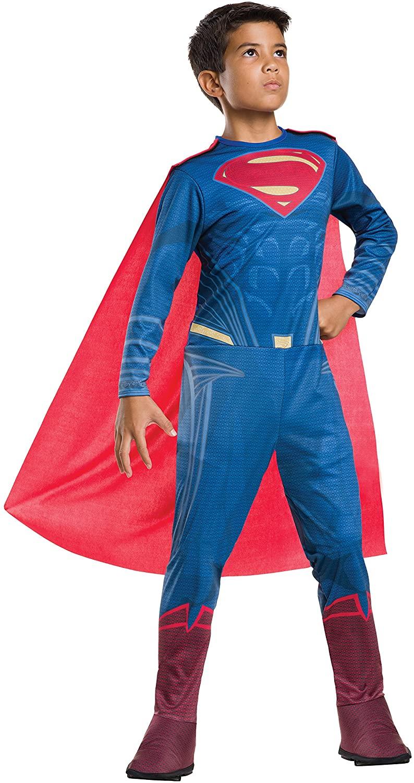 Rubie's Costume Batman v Superman: Dawn of Justice Superman Tween Value Costume, Small