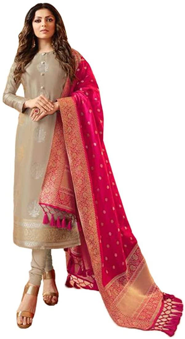 SHRI BALAJI SILK & COTTON SAREE EMPORIUM 9571 Indian Pakistani Suit Punjabi Churidar Salwar Kameez Party Eid Women