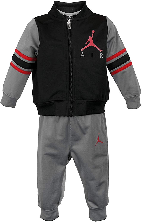 Jordan Air Little Boys Tracksuit Jacket & Solid Pants Set Outfit Size 7 (7 (6-7yrs))