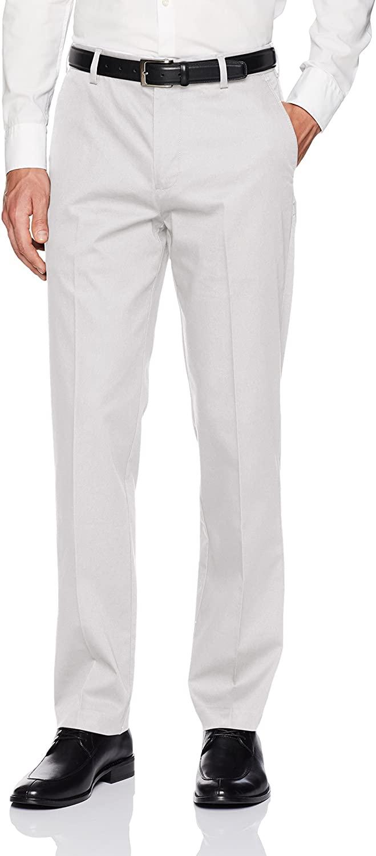 Van Heusen Men's Air Straight Fit Flat Front Chino Pant