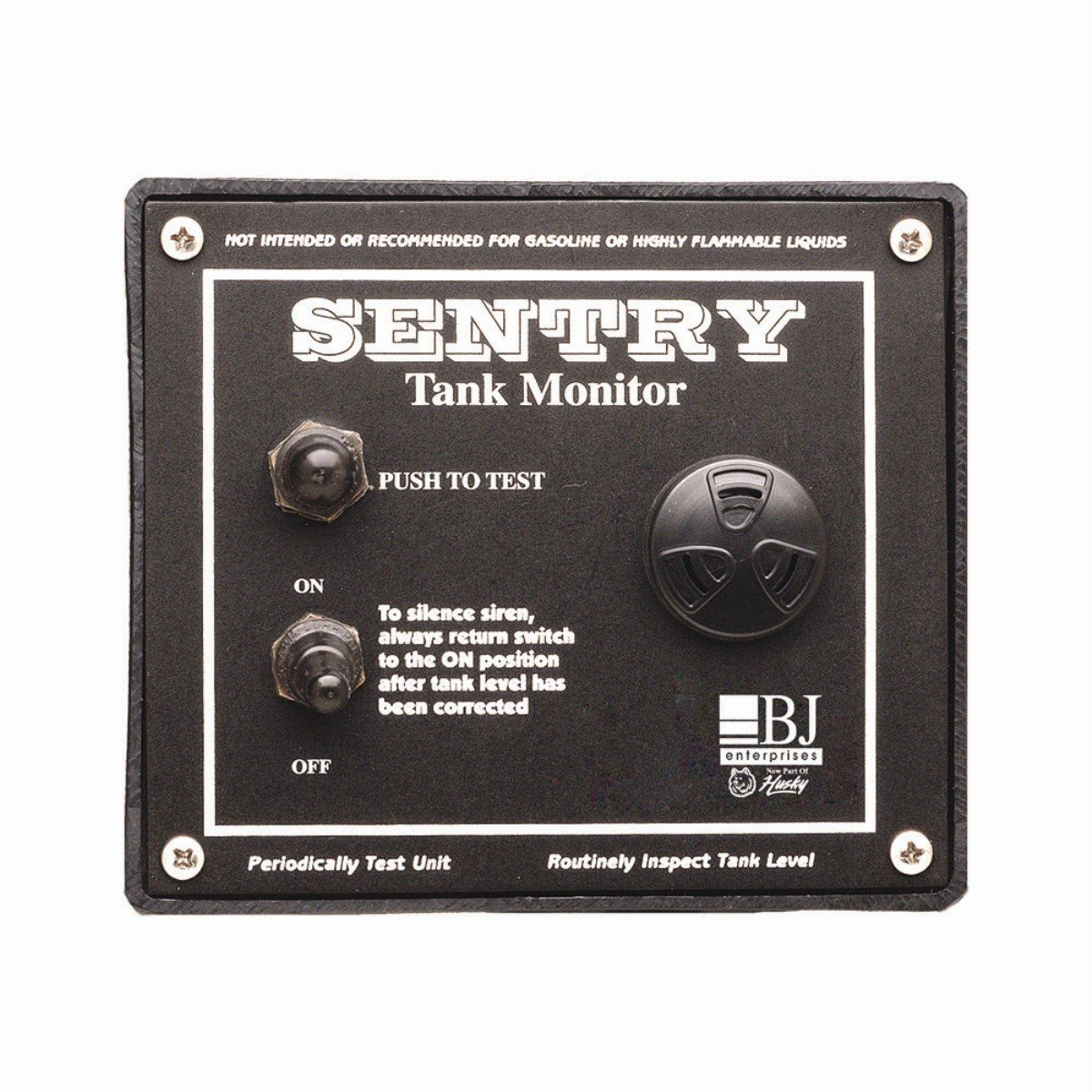 BJE 007725 Sentry Wall Mounted Tank Alarm with Built-In 103 Decibel Siren, Remote Tank Sensor and 9V Battery