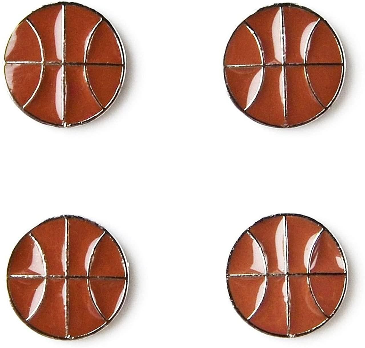 Quality Handcrafts Guaranteed Basketball Tuxedo Studs