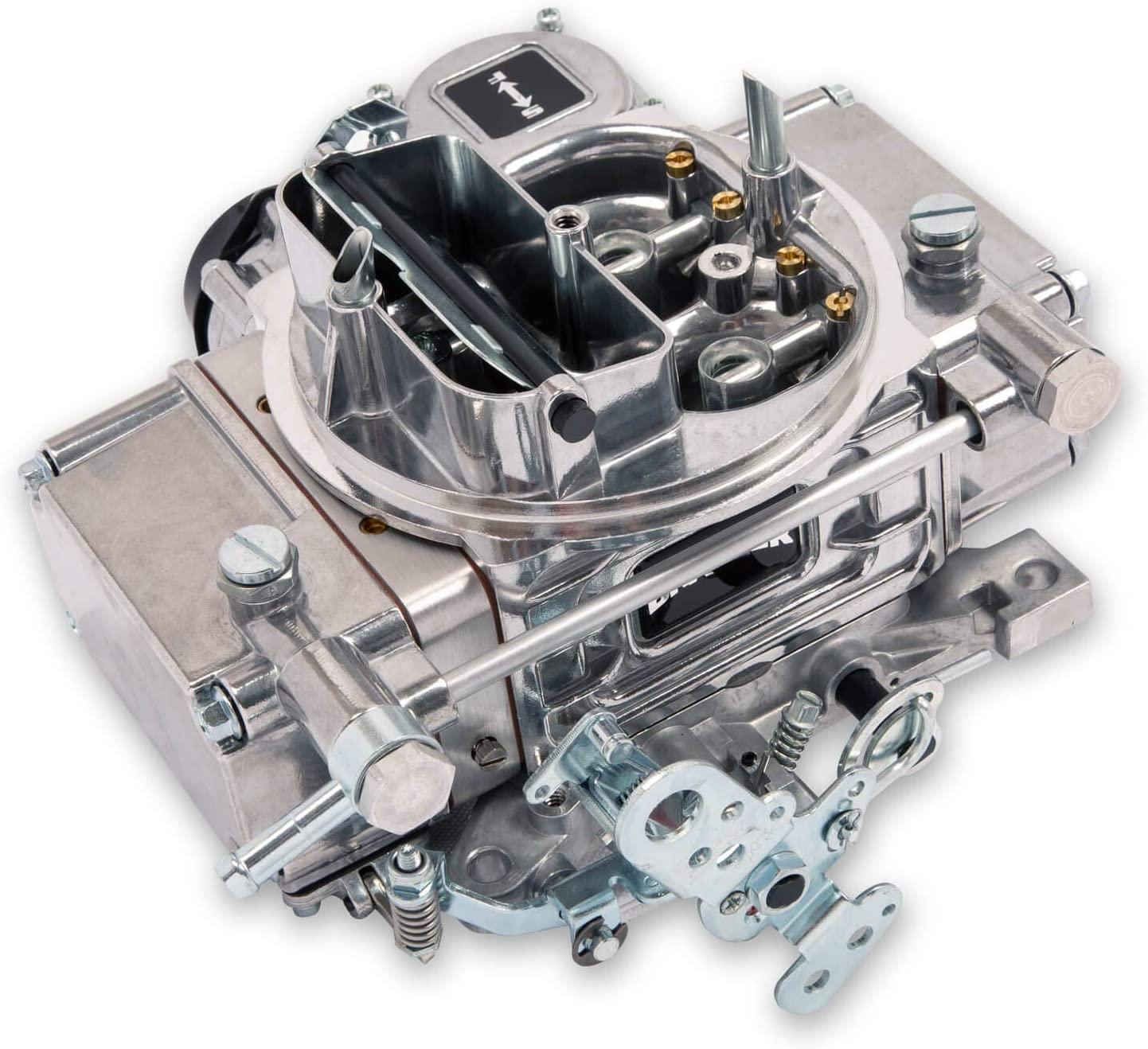 HOLLEY QUICK FUEL BRAWLER CARBURETOR,600 CFM,4150,4 BARREL,ELECTRIC CHOKE,VACUUM SECONDARIES