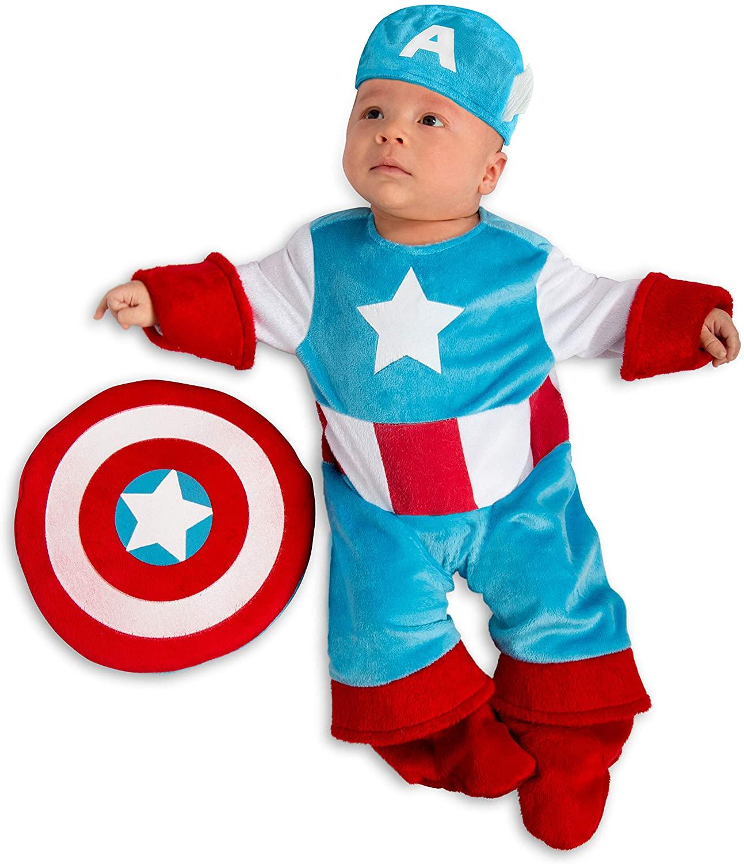 Newborn Marvel Captain America Costume