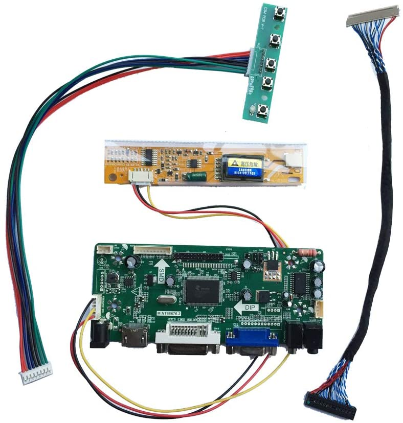 HDMI VGA LCD Controller Board Driver Monitor Kit for 1280X800 LP133WX1(TL)(A1) Panel