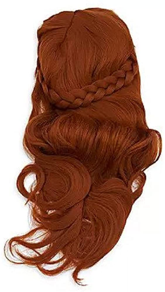 Disney Anna Costume Wig for Kids – Frozen 2 Red
