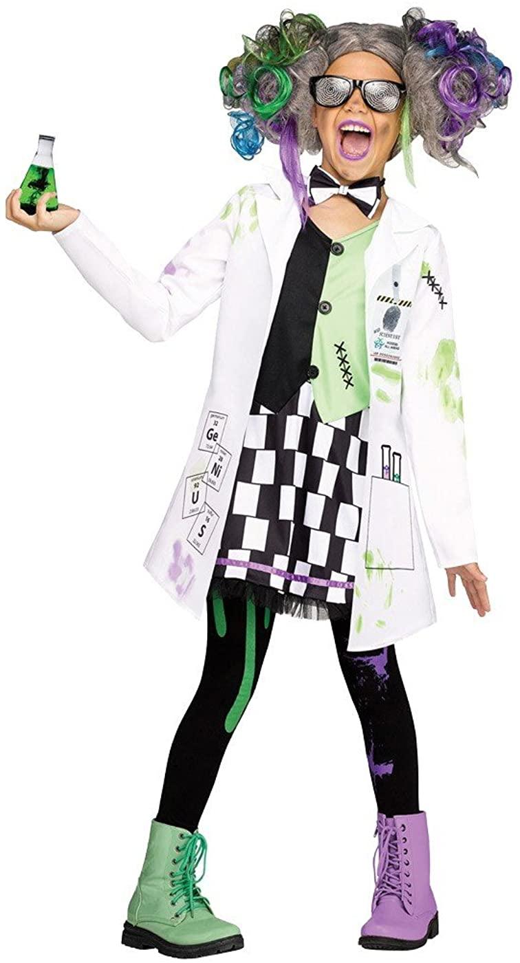Big Girls' Mad Scientist Costume