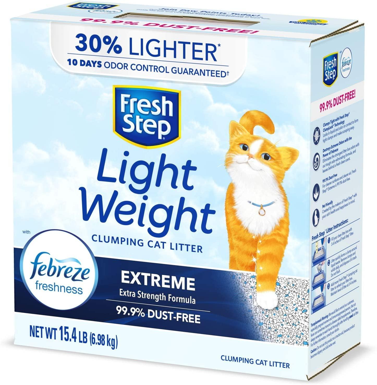 Fresh Step Lightweight Clumping Cat Litter