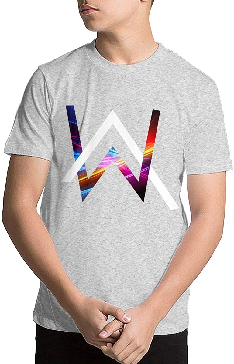 Youth Alan Walker Logo Teen Boys Teens Custom T-Shirt, Fashion Shirt for Boys and Girls
