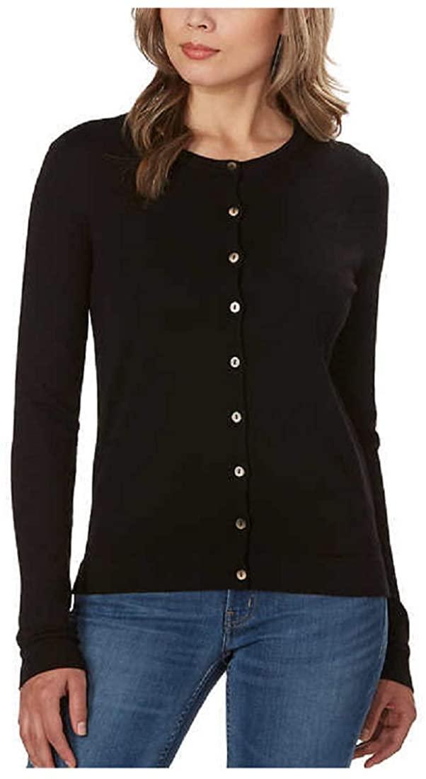 Kirkland Signature Ladies' Button Up Closure Soft Handfeel Cardigan