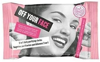 Soap And Glory Off Your Face 3 In 1 Daily Purifying Cloths 25 Cleansing Cloths