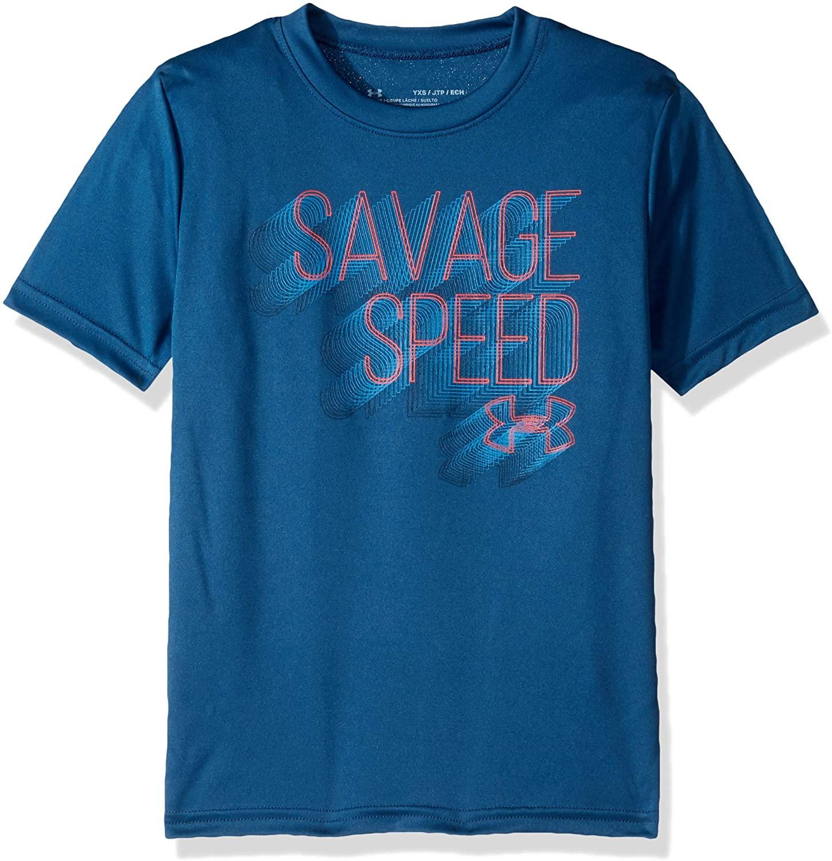 Under Armour Boys Savage Speed Short Sleeve