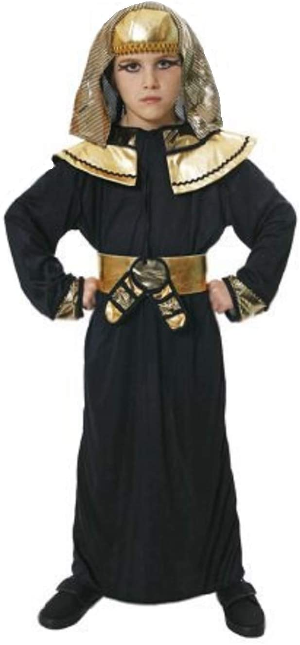 Medium 7-9 Years Children's Egyptian Pharoah Costume