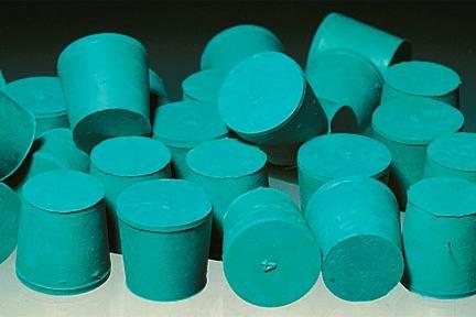 Fisherbrand Solid Neoprene Rubber Stoppers, Neoprene Stopper Solid No. 13.5