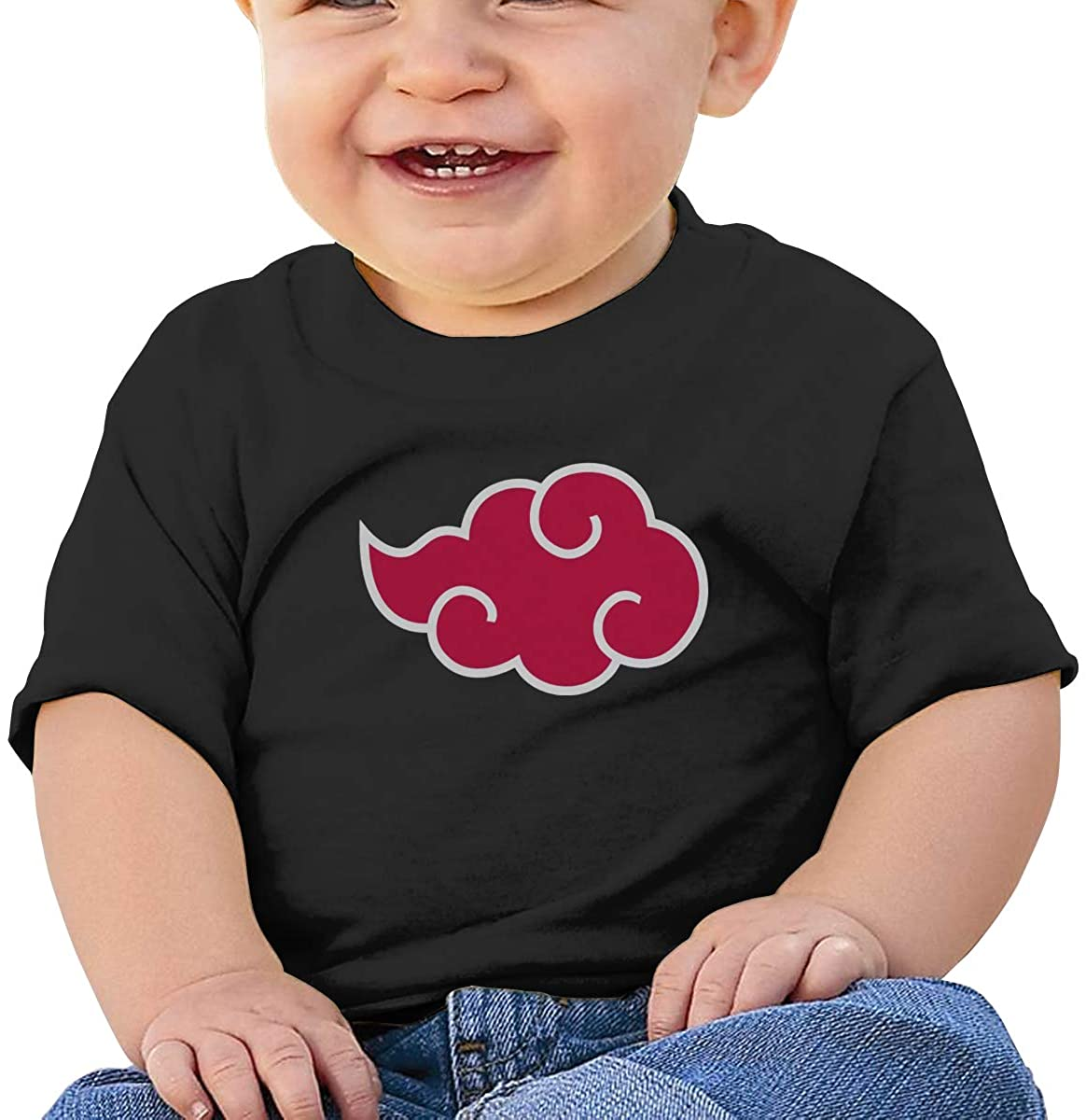 Andea Naruto Soft and Comfortable Cotton Baby Short-Sleeved T-Shirt