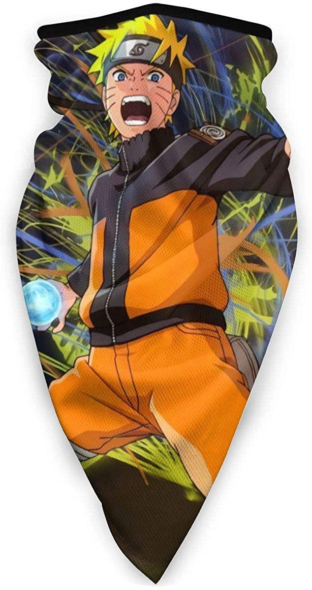 Naruto Anime Neck Windproof Sports Mask Scarf Unisex Veil