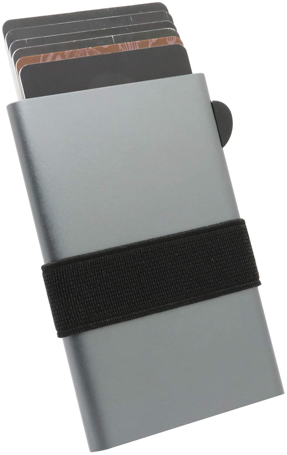 Credit Card Holder RFID Blocking, Slim and Lightweight Ejector Wallet