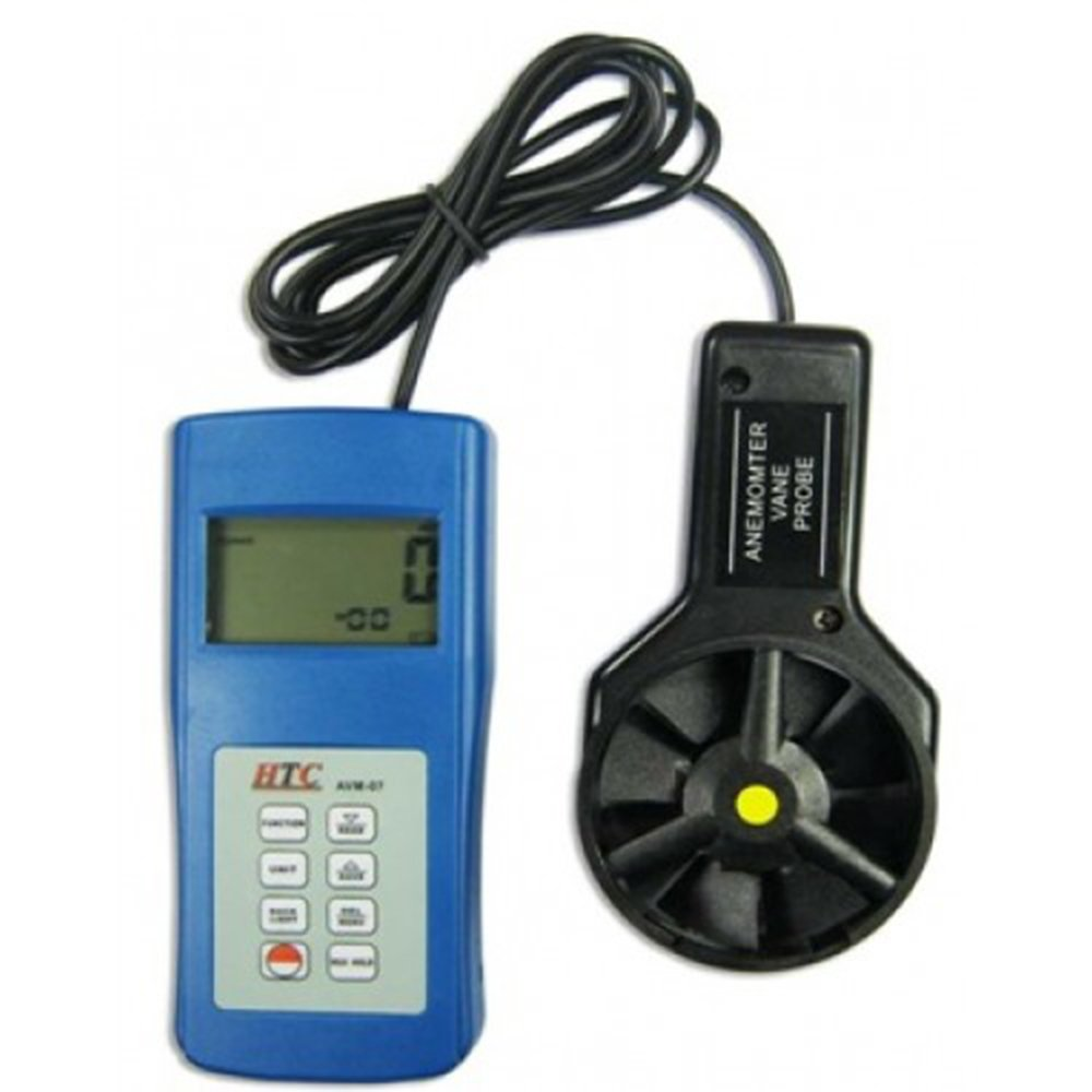 HTC AVM-07 Anemometer Along with Calibration Certificate