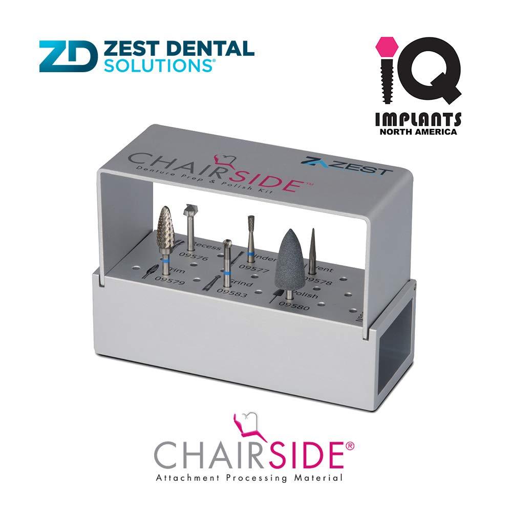 Zest CHAIRSIDE Denture Prep & Polish Kit