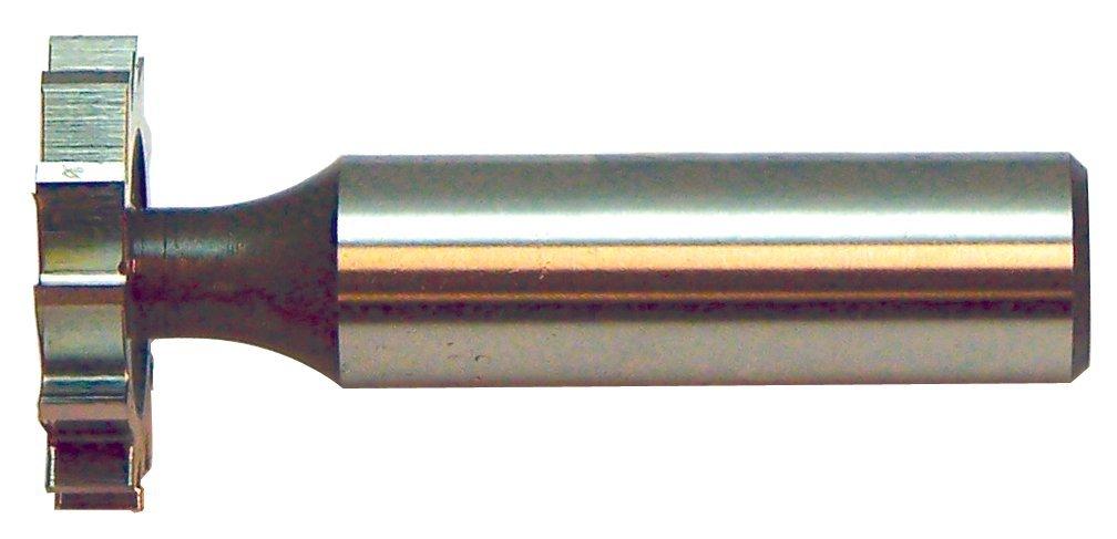 KEO 68311 Woodruff Keyseat Cutter DIN 850-B, High Speed Steel, Staggered, 19