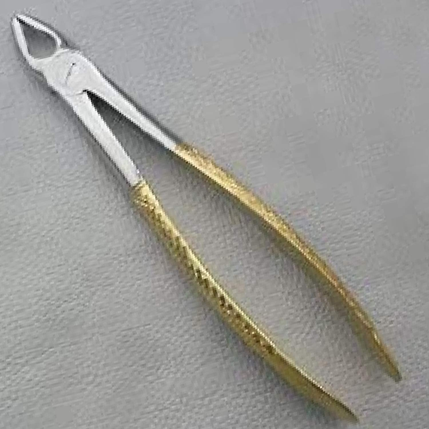 Dental Extracting Forceps # Md1 Gold Plated