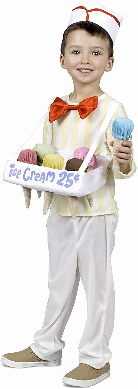 Princess Paradise Ice Cream Cone Salesman Toddler Costume