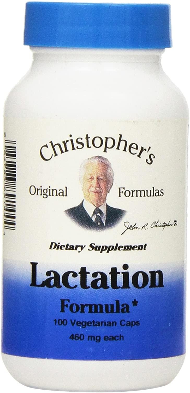 Dr Christopher's Lactation Formula, 100 Count